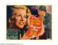 "Movie Posters:Comedy, Vivacious Lady (RKO, 1938). Half Sheet (22"" X 28""). George Stevensdirected this romantic comedy starring Ginger Rogers and ..."