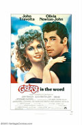 "Movie Posters:Musical, Grease Lot (Paramount, 1978). Advance One Sheet (27"" X 41""), Regular One Sheet (27"" X 41"") and Set of Lobby Cards (11"" X 14""..."