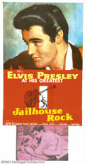 """Movie Posters:Musical, Jailhouse Rock (MGM, 1957). Three Sheet (41"""" X 81""""). The quintessential Elvis poster from the quintessential Elvis film. Thi..."""