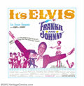 """Movie Posters:Musical, Elvis Presley Six Sheets (MGM, UA, 1966,1967). (2)Six Sheets (81"""" X 81""""). Elvis Presley's stardom was bigger than life, even..."""