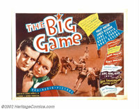 """Big Game (RKO, 1936), Life Begins in College (20th Century Fox, 1937). (2) Half Sheets (22"""" X 28""""). Offered he..."""