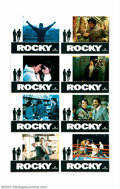 "Rocky (United Artists, 1977). One Sheet (27"" X 41""), Half Sheet (22"" X 28"") and Lobby Card Set (11&q..."