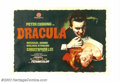 """Movie Posters:Horror, Horror of Dracula (Warner Brothers, 1958). Spanish One Sheet (39"""" X 27""""). This film is considered to be the finest of the Ha..."""