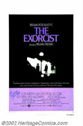 """Movie Posters:Horror, Exorcist, The (Warner Brothers, 1974). One Sheet (27"""" X 41""""). William Peter Blatty's riveting novel about demonic possession..."""