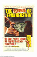 """Movie Posters:Horror, Frakenstein """"Hammer"""" Collection (Universal, 1957-72). This lot consists of (5) 1 Sheets (27"""" X 41""""), (1) Three Sheet of the ..."""