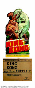 Movie Posters:Horror, King Kong (RKO, 1933). Jigsaw Puzzle. Offered as a premium give away this jigsaw puzzle was distributed with the original re...