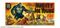 "Movie Posters:Adventure, Mighty Joe Young (RKO, 1949). Twenty-Four Sheet (approx 9' X 20').This is one Big Gorilla poster! The creators of ""King Kon..."