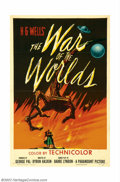 """Movie Posters:Science Fiction, War of the Worlds (Paramount, 1953). One Sheet (27"""" X 41""""). This H.G. Welles story was bought by Cecil B. DeMille in the twe..."""