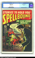 Golden Age (1938-1955):Horror, Atlas Horror Lot (Atlas, 1950s). This is another excellent Atlashorror lot consisting of Spellbound #4 (CGC FN+ 6.5); Journ...(Total: 4 Comic Books Item)