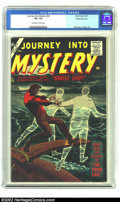 Silver Age (1956-1969):Horror, Journey into Mystery #43 White Mountain pedigree (Marvel, 1957) CGCVF+ 8.5 Off-white to White pages. Al Williamson and Mayo...