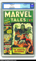 Golden Age (1938-1955):Horror, Marvel Tales #96 Diamond pedigree (Marvel, 1950) CGC NM- 9.2 Creamto off-white pages. This spectacular Sid Shores cover fea...