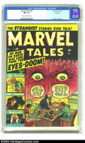 Golden Age (1938-1955):Horror, Marvel Tales #100 River City pedigree (Marvel, 1951) CGC NM- 9.2Cream to off-white pages. This is one book that you just ca...