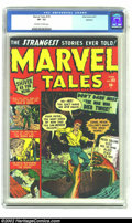 Golden Age (1938-1955):Horror, Marvel Tales #101 Spokane pedigree (Marvel, 1951) CGC VF- 7.5Off-white to white pages. This Spokane copy is absolutely brea...