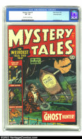 Golden Age (1938-1955):Horror, Mystery Tales #7 White Mountain pedigree (Atlas, 1953) CGC VF- 7.5Off-white to white pages. Jerry Robinson provides art in ...