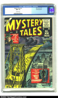Golden Age (1938-1955):Horror, Mystery Tales #32 White Mountain pedigree (Atlas, 1955) CGC NM- 9.2Off-white pages. Gerber indicates there are plenty of co...