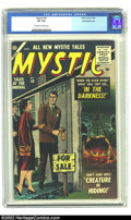 Silver Age (1956-1969):Horror, Mystic #50 White Mountain pedigree (Atlas, 1956) CGC VF 8.0Off-white to white pages. The third incarnation of the title sur...