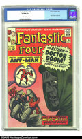 Silver Age (1956-1969):Superhero, Fantastic Four #16 (Marvel, 1963) CGC VF/NM 9.0 Off-white pages. Ant-Man makes his first cross-over in this issue, which als...