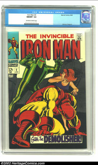 Iron Man #2 (Marvel, 1968) CGC NM/MT 9.8 Off-white to white pages. They just don't get much better than this. Look at th...