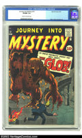 Golden Age (1938-1955):Horror, Journey into Mystery #72 (Marvel, 1961) CGC VF/NM 9.0 Cream tooff-white pages. Classic Kirby monster cover opens this issue...