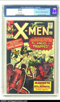 Silver Age (1956-1969):Superhero, X-Men #5 (Marvel, 1964) CGC VF 8.0 Off-white pages. Only fiveissues into the early run, and Magneto is making his third app...
