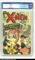 Silver Age (1956-1969):Superhero, X-Men #6 (Marvel, 1964) CGC NM 9.4 Off-white pages. It would beanother four years before Subby was awarded his own book, so...