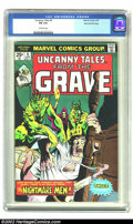 Bronze Age (1970-1979):Horror, Uncanny Tales (2nd Series) #9 Stan Lee File Copy (Marvel, 1975) CGCFN 6.0 Off-white pages. For those young Marvelites who h...