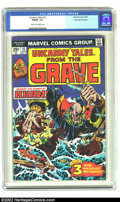 """Bronze Age (1970-1979):Horror, Uncanny Tales (2nd Series) #10 Stan Lee File Copy (Marvel, 1975)CGC FN/VF 7.0 Cream to off-white pages. """"Beware the Power o..."""