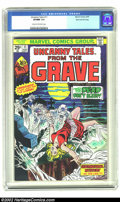 "Bronze Age (1970-1979):Horror, Uncanny Tales (2nd Series) #11 Stan Lee File Copy (Marvel, 1975)CGC VF/NM 9.0 Cream to off-white pages. ""The Dead Don't Sle..."