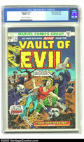 Bronze Age (1970-1979):Horror, Vault of Evil #17 Stan Lee File Copy (Marvel, 1975) CGC FN/VF 7.0Cream to off-white pages. You should rush to claim this St...