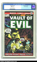 Bronze Age (1970-1979):Horror, Vault of Evil #22 Stan Lee File Copy (Marvel, 1975) CGC FN/VF 7.0Cream to off-white pages. Steve Ditko interior artwork, Kl...
