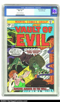 Bronze Age (1970-1979):Horror, Vault of Evil #23 Stan Lee File Copy (Marvel, 1975) CGC FN+ 6.5Cream to off-white pages. As this is the very last issue in ...