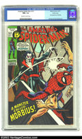 Bronze Age (1970-1979):Superhero, Amazing Spider-Man #101 Pacific Coast pedigree (Marvel, 1971) CGCNM+ 9.6 Off-white to white pages. Gil Kane's cover introdu...