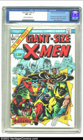 Bronze Age (1970-1979):Superhero, Giant-Size X-Men #1 (Marvel, 1975) CGC NM- 9.2 Cream to off-whitepages. This book not only introduces new X-Men Storm, Nigh...