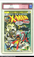 Bronze Age (1970-1979):Superhero, X-Men #94 (Marvel, 1975) CGC NM 9.4 Off-white to white pages. Thecomic that started all the hype on the New X-Men. This is ...