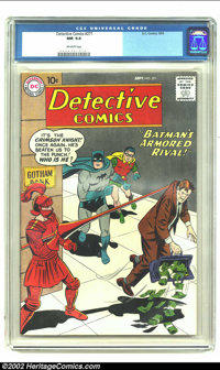Detective Comics #271 (DC) CGC NM 9.4 Off-white pages. This issue features the origin recap of the Manhunter, and Batman...