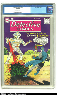 """Detective Comics #272 (DC, 1959) CGC NM 9.4 Off-white to white pages. Dangerous, dangerous, here is the """"Menace of..."""
