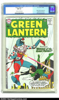 Silver Age (1956-1969):Superhero, Green Lantern #1 (DC, 1960) CGC NM 9.4 Off-white to white pages. Ifyou want the very best, this is definitely it. Seasoned ...