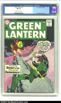 Silver Age (1956-1969):Superhero, Green Lantern #2 (DC, 1960) CGC NM 9.4 Off-white to white pages. The revival of one of DC's greatest Golden Age characters (...