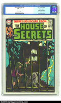 Silver Age (1956-1969):Mystery, House of Secrets #81 Pacific Coast pedigree (DC, 1969) CGC NM 9.4White pages. The title's format changed to mystery with th...