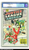 Silver Age (1956-1969):Superhero, Justice League of America #5 (DC, 1961) CGC NM 9.4 Off-white pages.Mike Sekowsky, who had labored in relative obscurity for...