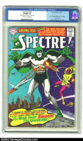 Silver Age (1956-1969):Horror, Showcase #60 (DC, 1966) CGC VF/NM 9.0 Off-white to white pages. TheSpectre makes his first Silver Age appearance in this is...