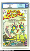 Silver Age (1956-1969):Science Fiction, Strange Adventures #151 Pacific Coast pedigree (DC, 1963) CGC NM+9.6 White pages. Mankind's advanced technology betrays the...