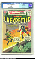 Silver Age (1956-1969):Horror, Tales of the Unexpected #5 River City pedigree (DC, 1956) CGC FN 6.0 Off-white pages. One of DC's last new titles before the...