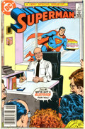 Modern Age (1980-Present):Miscellaneous, Framed Copies of Superman #411 (DC, 1985). This lot consists of two copies of Superman #411, one framed. This issue is o...