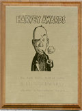 Memorabilia:Comic-Related, Jack Kirby Hall of Fame Lifetime Achievement Award (1995). This is the Harvey Award given to Julius Schwartz in 1995 for the...