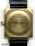 Memorabilia:Comic-Related, Lucien Piccard Presentation Watch From DC to Julius Schwartz. Julius served DC well, and the publisher wanted to reward him...