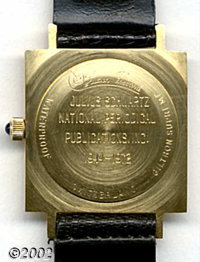 Lucien Piccard Presentation Watch From DC to Julius Schwartz. Julius served DC well, and the publisher wanted to reward...