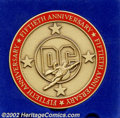 Memorabilia:Comic-Related, DC 50th Anniversary Bronze Medallion (DC, 1985). Here's one that all your friends don't have. How many people do you think e...