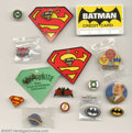 Memorabilia:Comic-Related, Julius Schwartz Batman and Superman Collectibles (undated). Offered here are 38 pieces of Batman and Superman memorabilia co...
