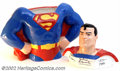 Memorabilia:Comic-Related, Superman Cookie Jar (1997). For all you Kal-El maniacs, you wouldn't want your cookies in anything less than this hand-paint...